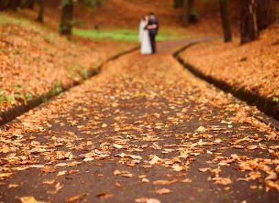 Believe it or not, Fall weddings are more common than those of any season but summer.