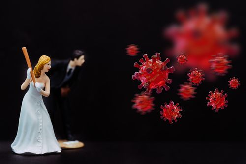 Bride and Groom Angry About Coronavirus