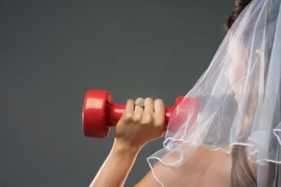 Bride Working Out