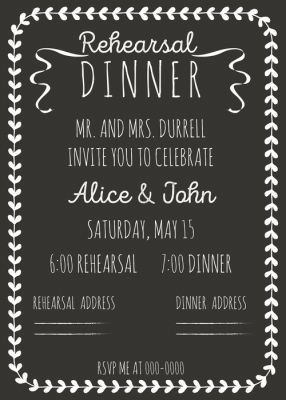 Planning your rehearsal dinner what you need to know for How do i get ordained to perform wedding ceremonies