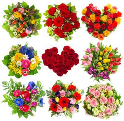 A Bouquet Of Wedding Flowers