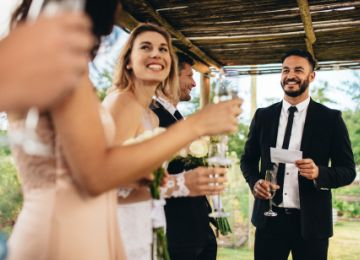 What To Avoid in Your Wedding Toast