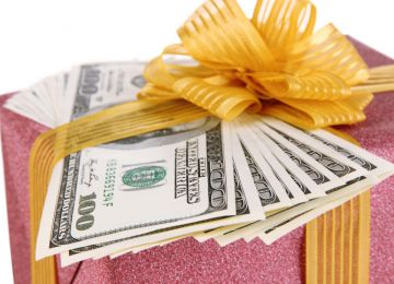 The Sticky Business of a Cash Wedding Gift