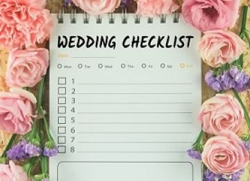 Checklist for the Week of Your Wedding
