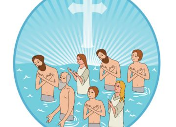 The Process of Baptism for Christians