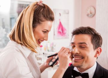 Grooms: Achieve Wedding-Day Readiness With Makeup Services