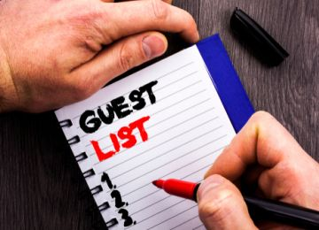 Tips for Battling Guest List Anxiety