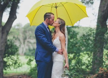 Making the Most of a Rainy Wedding Day