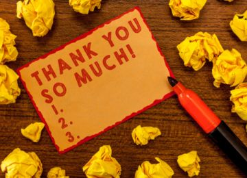 Figuring Out Your Thank-You Notes