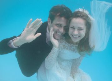 The Lure of a Watery Wedding off the Gulf Coast