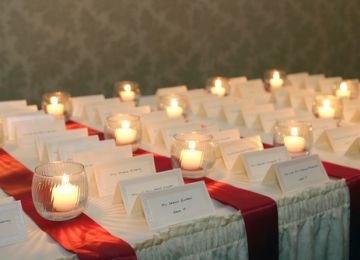 Places, Everyone! Executing Your Wedding Reception Seating Plan