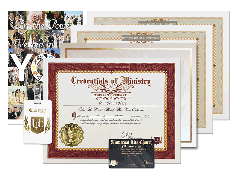Classic Wedding Kit - Get Ordained