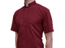 Clergy Shirt - Short Sleeve Red