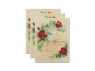 Marriage Certificate - Antique Rose 3 Certificates