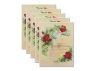 Marriage Certificate - Antique Rose 5 Certificates