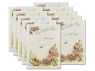 Marriage Certificate - Antique Floral 10 Pack