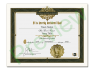 Religious Title Certificate