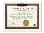 Master of Wicca Degree