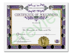 Wiccaning Certificate