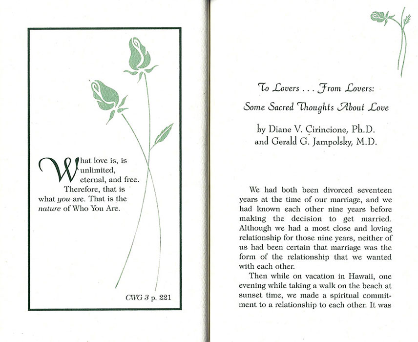 The wedding vows get ordained wedding vows from conversations with god page junglespirit Choice Image