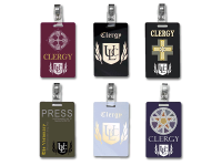 Clergy Clip-on Badge