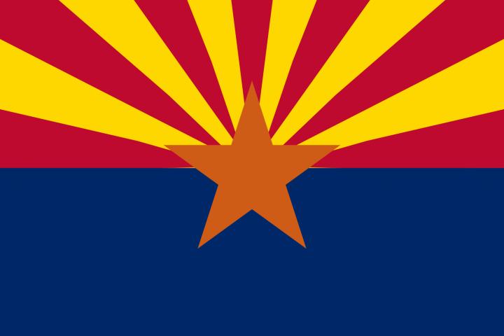 The Arizona state flag