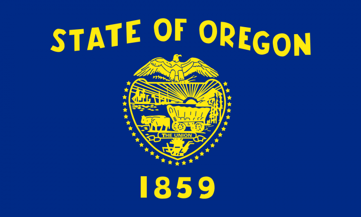 The Oregon state flag