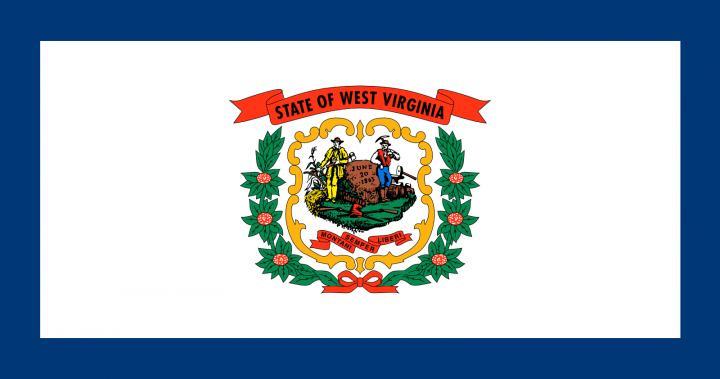 The West Virginia state flag